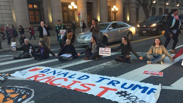 Protestations aux Etats-Unis - Sputnik France