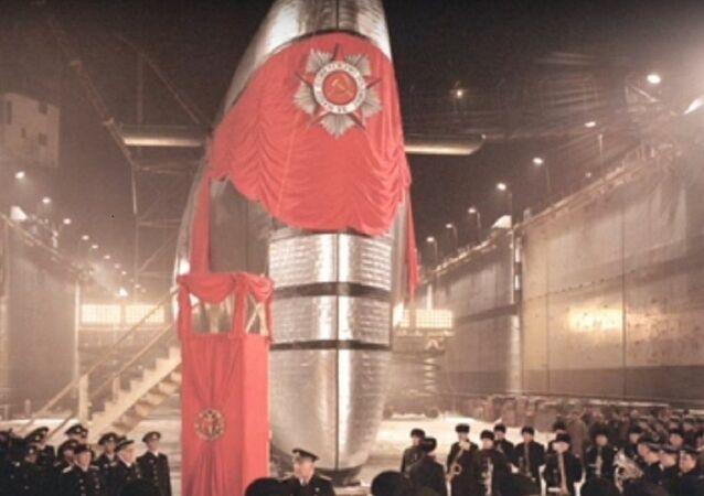 le sous-marin soviétique