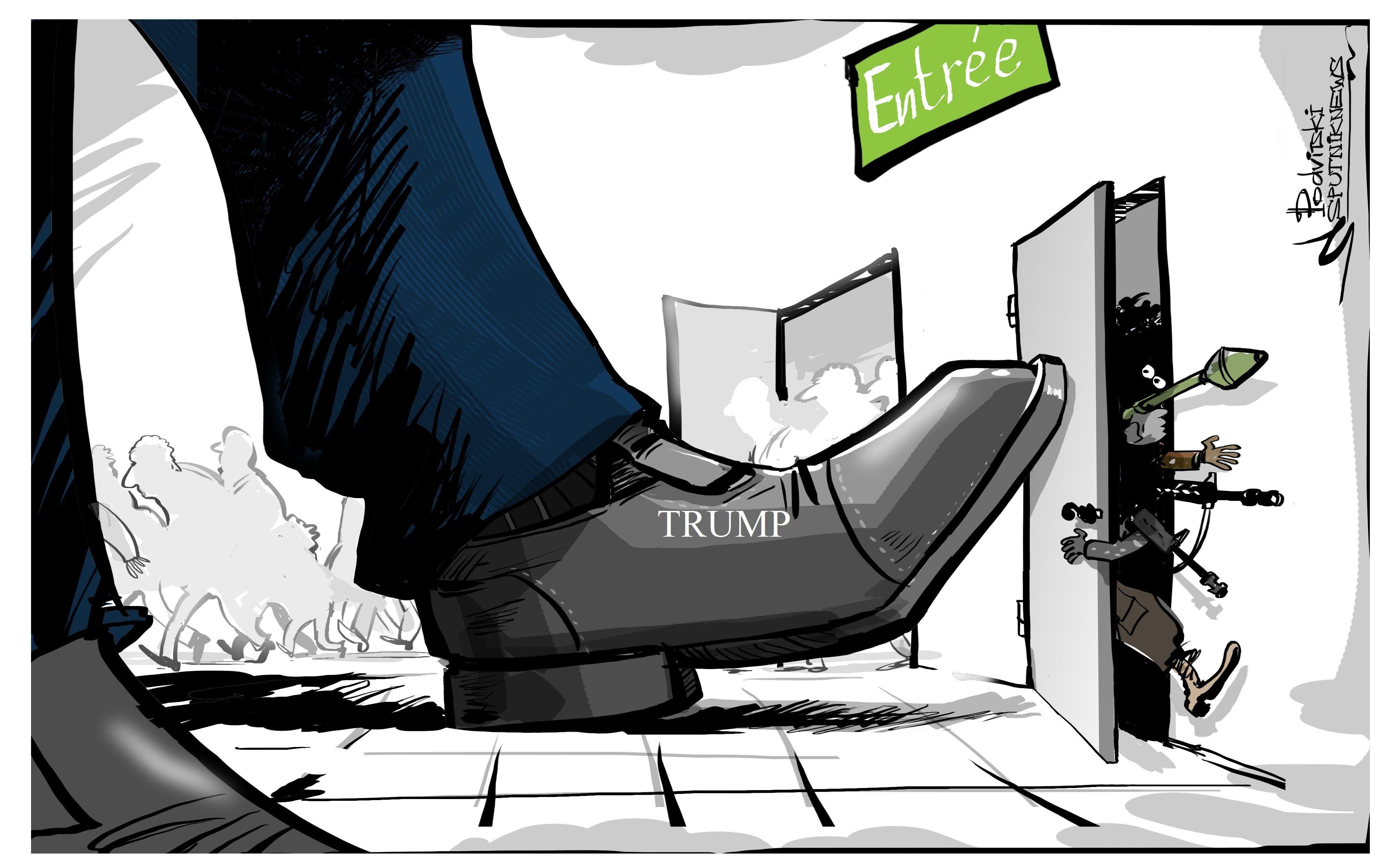 Trump gèle le programme d'accueil des réfugiés