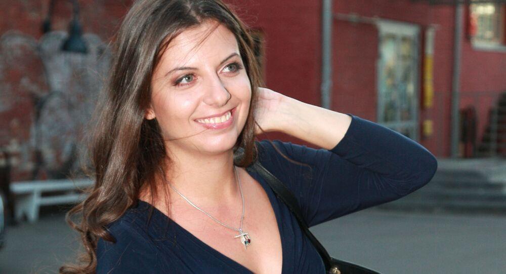 La rédactrice en chef de RT et de Rossiya Segodnya Margarita Simonian
