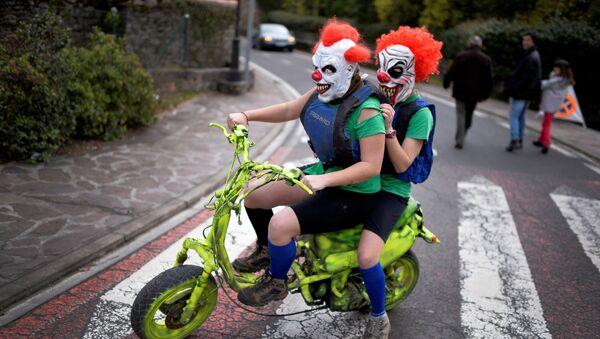 Carnaval diabolique au Pays basque - Sputnik France