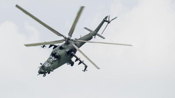 Un Mi-24 - Sputnik France