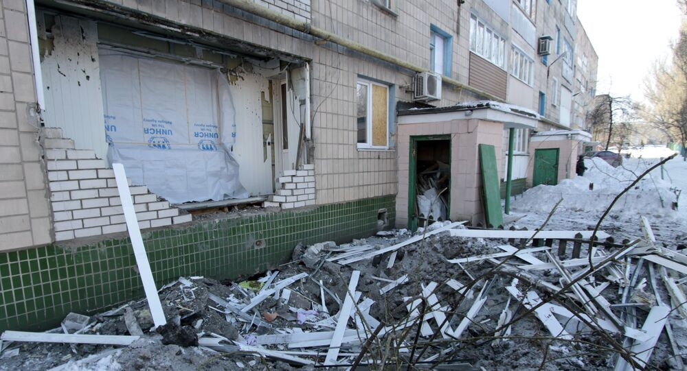 Situation à Donetsk