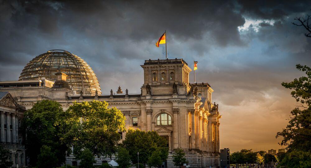 Le Bundestag allemand