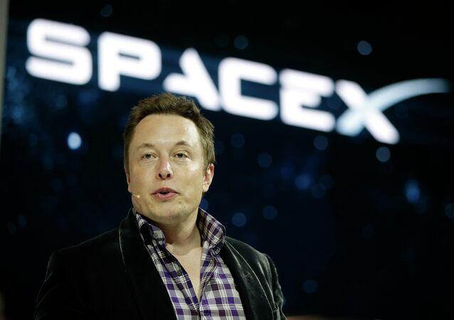 Elon Musk,fondateur de Space X et PDG de Tesla
