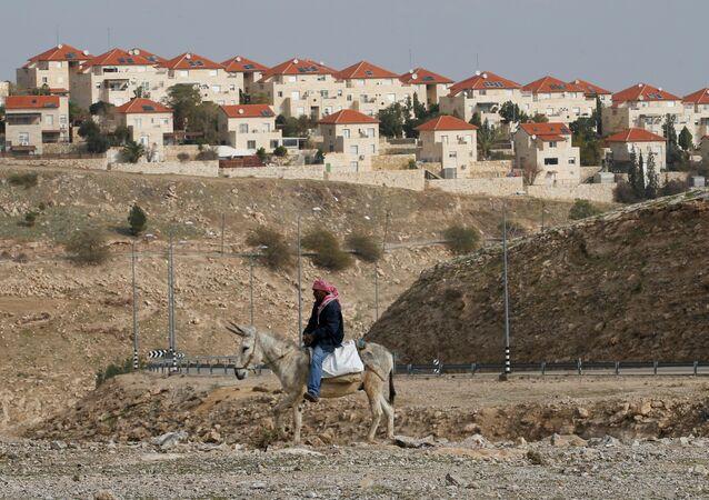 La colonie israélienne de Maale Edumim, située en Cisjordanie