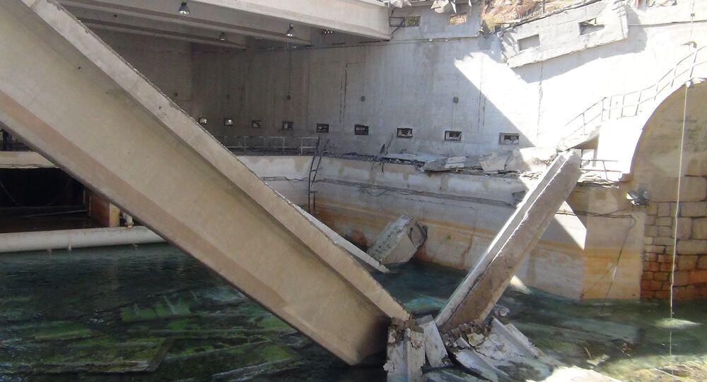 Station hydraulique d'Ain al-Fijeh