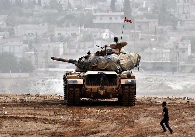 Un char turc