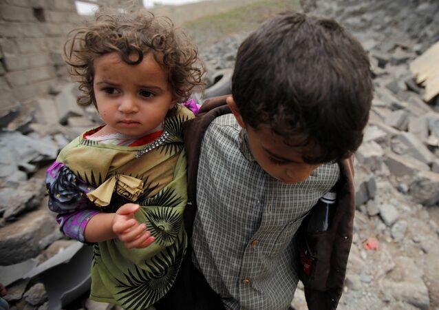 Les enfants, premières victimes du conflit au Yémen
