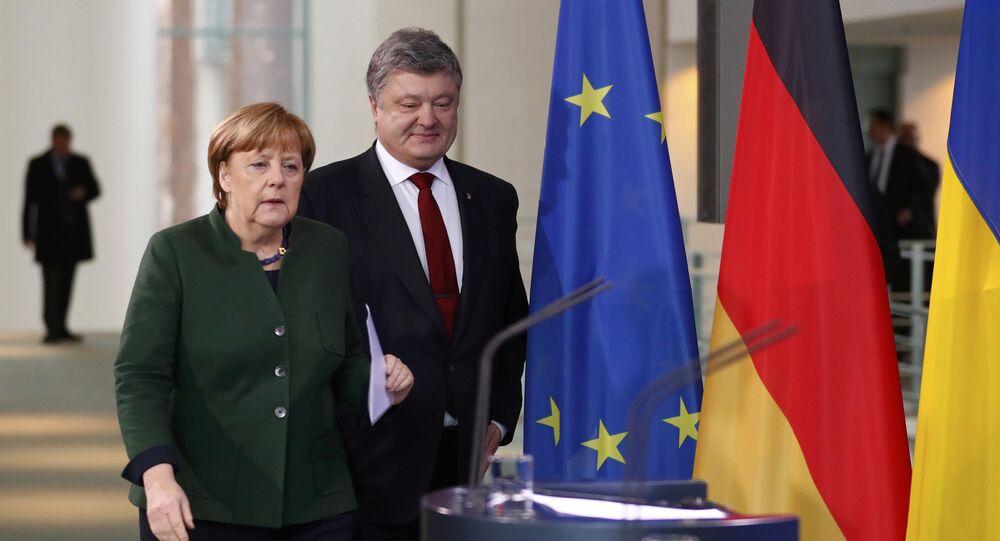 Merkel et Porochenko