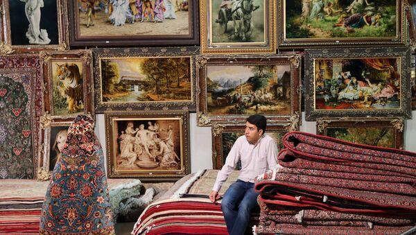 Международная выставка ковров ручной работы в Тегеране - Sputnik France