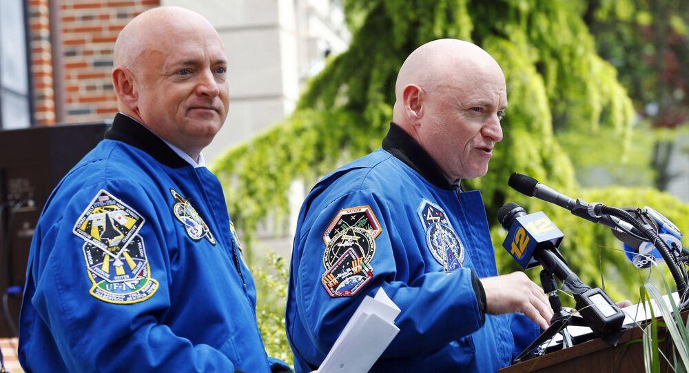 Scott Kelly et Mark Kelly