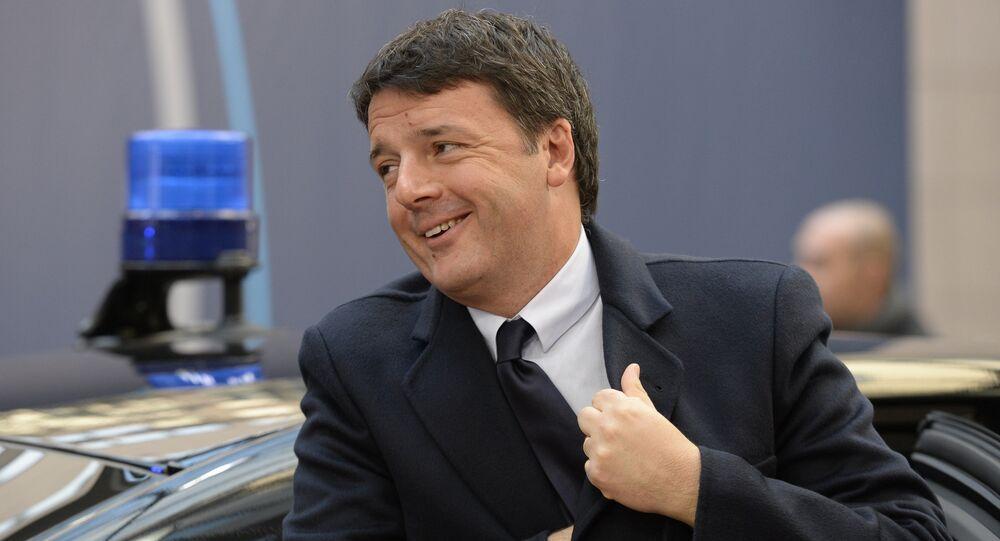 Matteo Renzi. Archive photo
