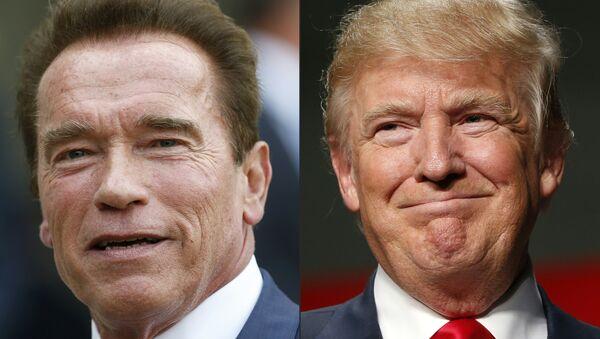 Donald Trump et Arnord Schwarzenegger - Sputnik France