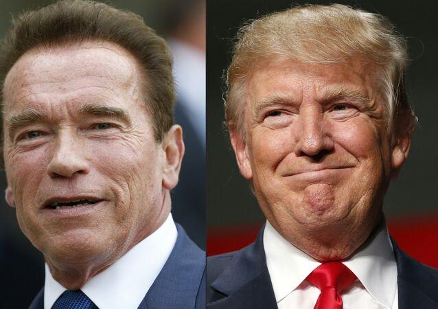 Donald Trump et Arnord Schwarzenegger