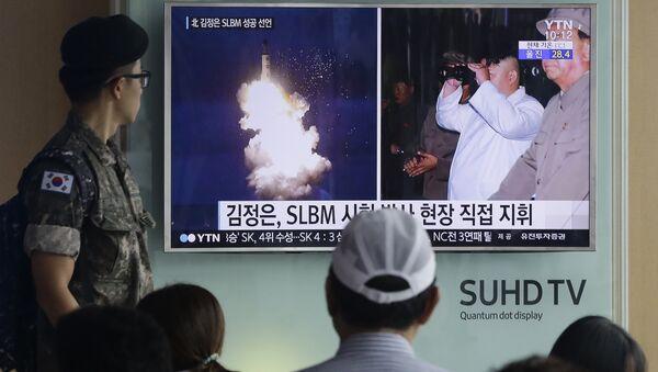 soldat sud-coréen - Sputnik France