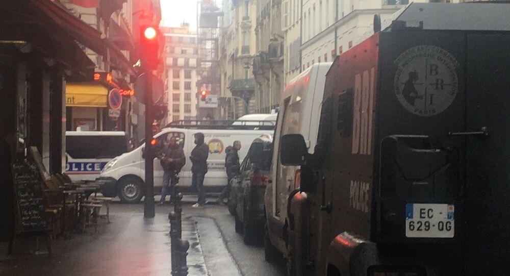 perquisition en cours rue de Ponthieu