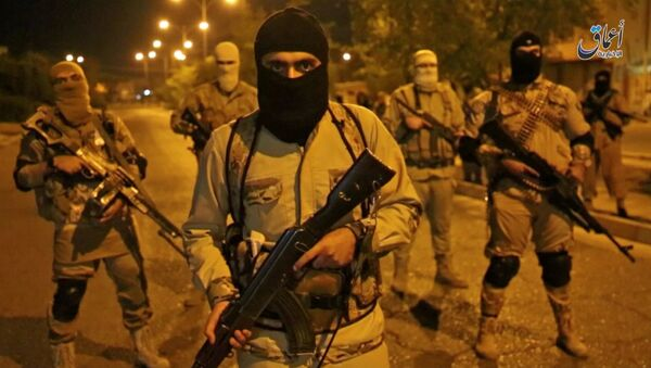 Des combattants de Daech à Mossoul - Sputnik France