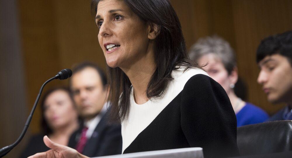 Un possible décryptage des propos de l'ambassadrice US sur les sanctions antirusses
