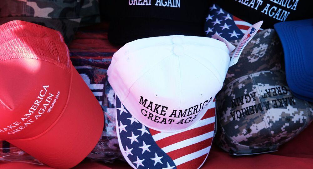 slogan de la campagne de Donald Trump « Rendre à l'Amérique sa grandeur »,