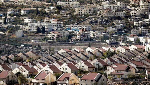 Une colonie israélienne en Cisjordanie (image d'ullustration) - Sputnik France