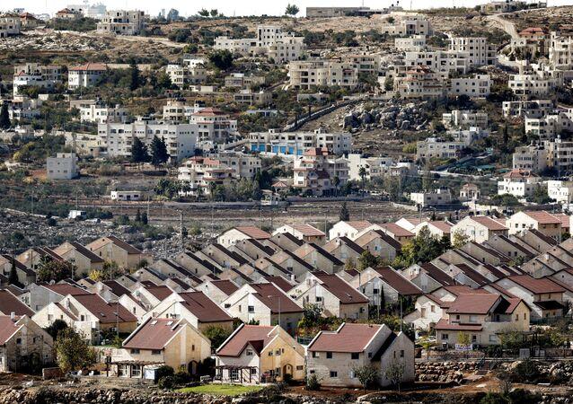 Une colonie israélienne en Cisjordanie (image d'ullustration)