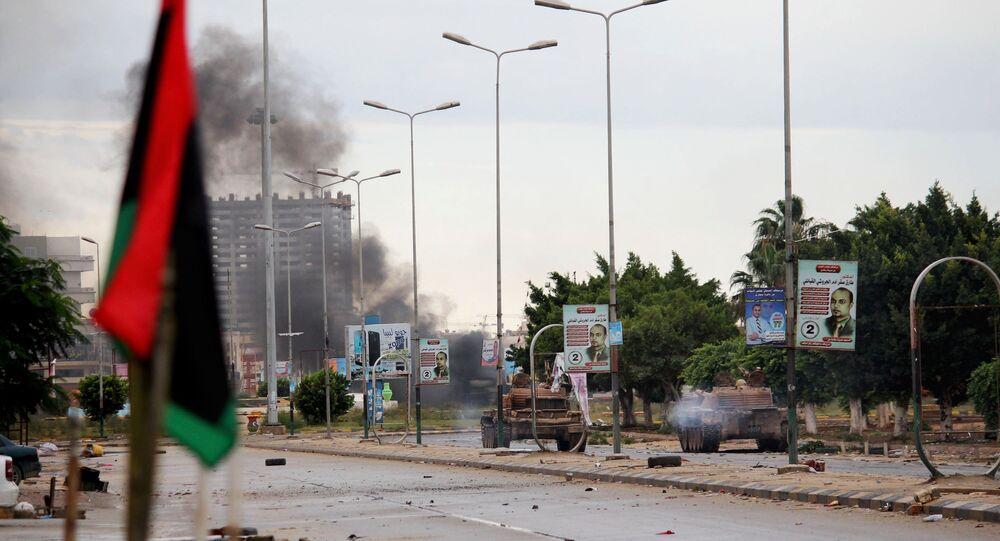 Situation en Libye. Image d'illustration