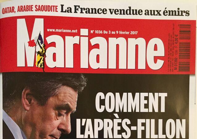 Couverture de Marianne