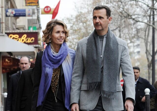 Bachar et Asma el-Assad. Archives