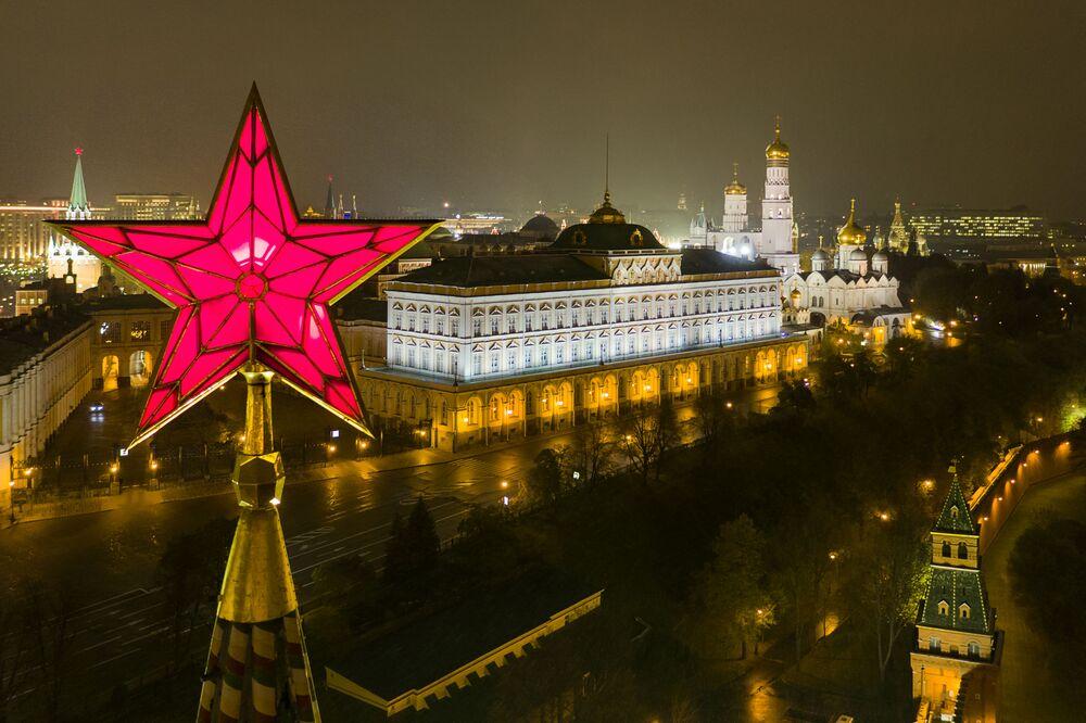 La capitale de la Russie, Moscou