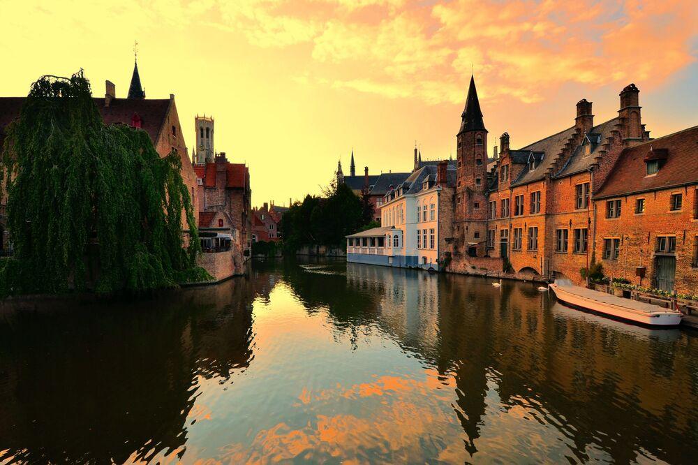Le chef-lieu de la Flandre occidentale, la ville belge de Bruges