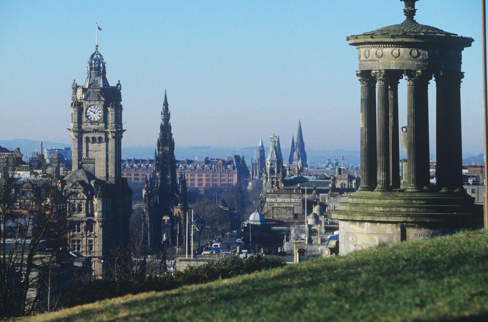 La capitale de l'Écosse, Édimbourg