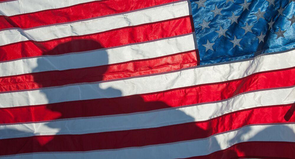 Un drapeau américain