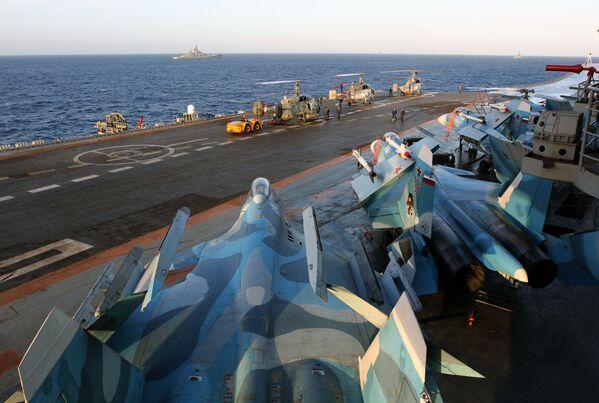 La campagne du détachement des navires de guerre de la Flotte russe du Nord - Sputnik France