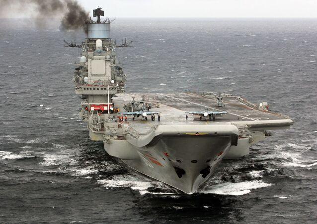 L'Amiral Kouznetsov se dirige vers les côtes syriennes