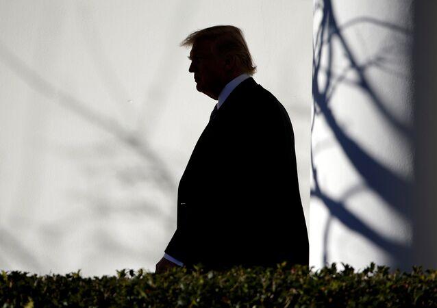 La Maison blanche, Donald Trump