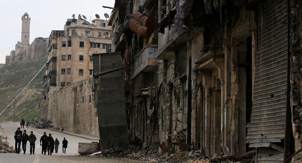 La vieille ville d'Alep