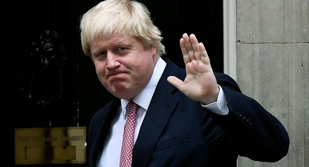 Boris Johnson, chef de la diplomatie britannique