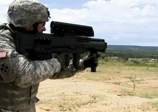 Le XM25 lance-grenades semi-automatique