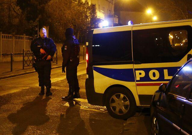 Police à Argenteuil, 24 mars 2016.