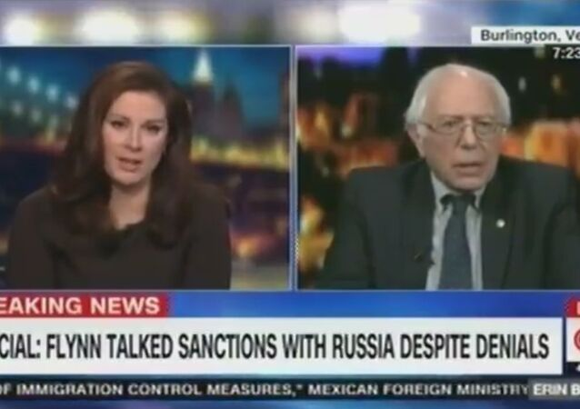 CNN Abruptly Cuts Off Bernie Sanders After He Jokes About Fake News