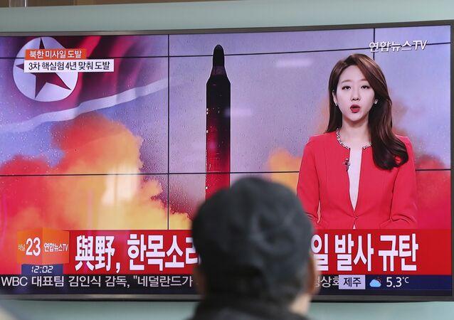 Les images du tir diffusées par la TV