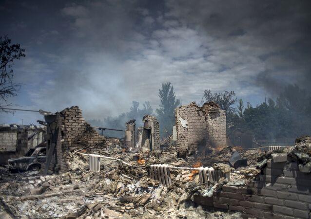 Situation dans le Donbass en 2014, archives