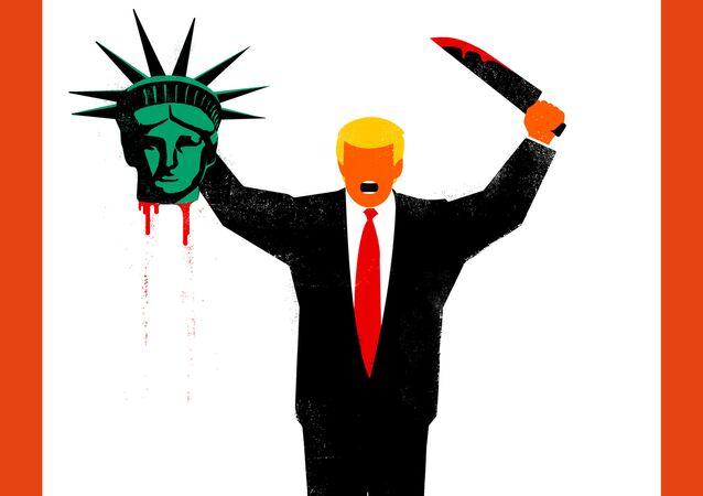 Pour le journal allemand Der Spiegel Trump est un terroriste barbare