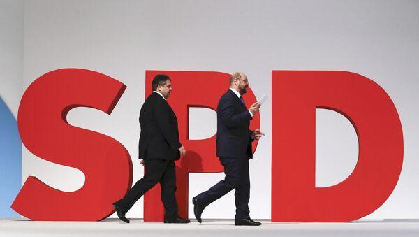 Martin Schulz et Sigmar Gabriel - Sputnik France