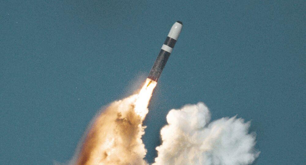 Un Trident II tiré depuis un sous-marin