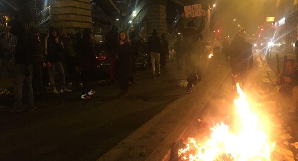 L'extrême-droite transforme une manifestation pour Théo en acte de vandalisme à Paris