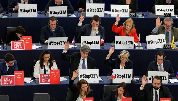 Avrupa Parlamentosu / CETA - Sputnik France