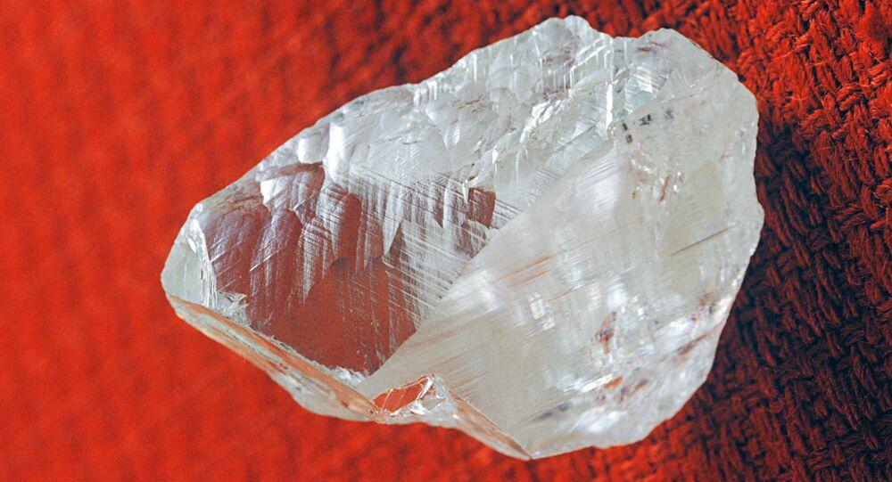 Un diamant brut
