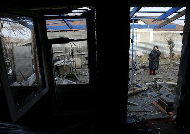 Un blocus du Donbass au lieu d'une aide